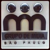 Photo taken at Grupo de Midia SP by Nathalia C. on 8/14/2012