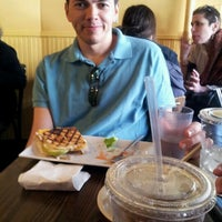 Photo taken at Naidre's Cafe & Bakery by Kara A. on 4/21/2012