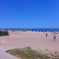 Photo taken at Bradford Beach by John C. on 7/1/2012