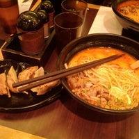 Photo taken at Ajisen Ramen 味千ラーメン by Colin A. on 5/12/2012