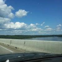 Photo taken at Millard E. Tydings Memorial Bridge by Sherman G. on 6/6/2012