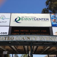 Photo taken at San Mateo County Event Center by Brian K. on 6/18/2012