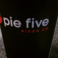 Photo taken at Pie Five Pizza Co. by Gabriela D. on 4/10/2012