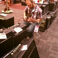 Photo taken at Guitar Center by Brandon B. on 3/19/2012