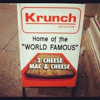 Photo taken at Krunch Pizza Bar by Rev C. on 8/9/2012