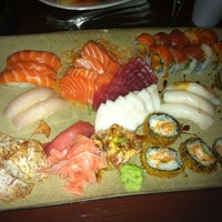 Photo taken at Rise Modern Asian Cuisine and Sushi by Larry S. on 8/10/2012