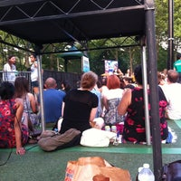 Photo taken at Central Park SummerStage by ash on 6/21/2012