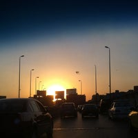 Photo taken at 6th October Bridge by Mahmoud F. on 8/19/2012