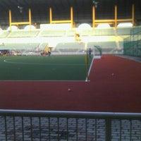 Photo taken at Stadium Hoki Nasional by Ezudin M. on 2/24/2012