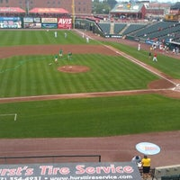 Photo taken at Clipper Magazine Stadium by Mary D. on 9/2/2012
