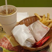 Photo taken at MOS Burger by Maxwell T. on 8/20/2012