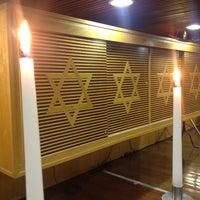 Photo taken at Sinagoga da Hebraica by Jose Luiz G. on 6/22/2012