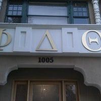 Photo taken at Phi Delta Theta by CHRIS T. on 2/26/2012