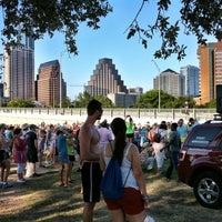 Photo taken at Auditorium Shores at Lady Bird Lake by Austin P. on 6/24/2012
