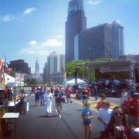 Photo taken at Benjamin Franklin Parkway by Vince M. on 7/4/2012