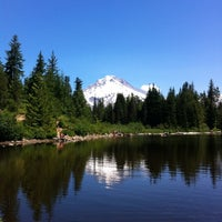 Photo taken at Mt Hood National Forest by Bee T. on 7/26/2012
