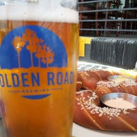 Photo taken at Golden Road Brewing by Travis H. on 6/15/2012