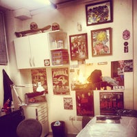 Photo taken at Blacky Tattoo by Belisario G. on 6/27/2012