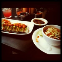 Photo taken at Sushi Factory by Rafael T. on 5/29/2012
