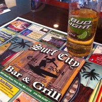 Photo taken at Surf City Bar & Grill by Janet P. on 4/17/2012