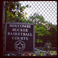 Photo taken at Rucker Park Basketball Courts by Andrew N. on 8/17/2012