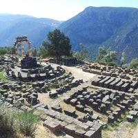 Photo taken at Archaeological Site of Delphi by Daniel K. on 8/28/2012
