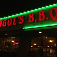 Photo taken at Golden Palace Mongolian BBQ by Leslie B. on 4/13/2012