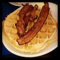 Photo taken at Landmark Diner by Jen B. on 4/21/2012