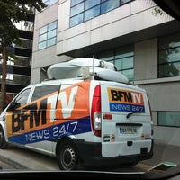 Photo taken at BFM TV by Axel M. on 7/20/2012