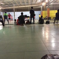 Photo taken at Mayasari Futsal by Bagus A. on 3/11/2012