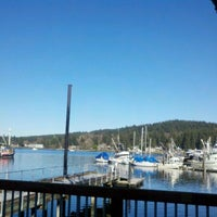 Photo taken at Gig Harbor Waterfront by David C. on 2/3/2012