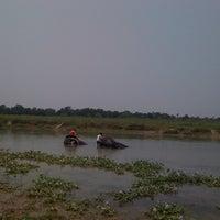 Photo taken at Chitwan Jungle Wildlife Camp by Serap K. on 5/11/2012
