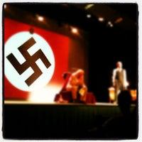 Photo taken at Sala Cultural La Llotja by Israel M. on 2/25/2012
