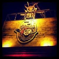 Photo taken at Pizzaria Cara de Mau by Alex F. on 7/1/2012