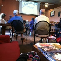 Photo taken at Eclipse Coffee and Books by Amanda F. on 3/24/2012