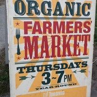 Photo taken at Dufferin Grove Farmers' Market by Michelle G. on 3/29/2012