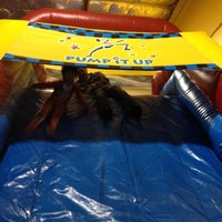 Photo taken at Pump It Up by Wendy Y. on 3/17/2012