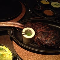 Photo taken at Jean Georges Steakhouse by Urban S. on 8/4/2012