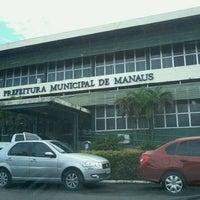 Photo taken at Prefeitura Municipal de Manaus by Fernando G. on 5/7/2012