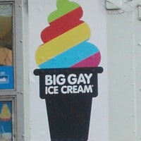 Photo taken at The Big Gay Ice Cream Truck by Stephanie P. on 9/12/2012