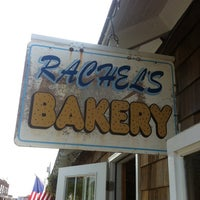 Photo taken at Rachel's Bakery & Restaurant by Siobhan Q. on 5/26/2012