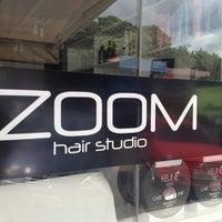 Photo taken at Zoom Hair Studio by Felipe Figueiredo M. on 3/6/2012