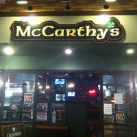 Photo taken at McCarthy's Irish Pub by Jerry M. on 2/24/2012