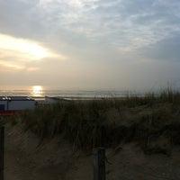 Photo taken at Strand Egmond Aan Zee by Koen E. on 5/1/2012