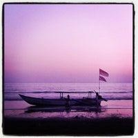 Photo taken at Pantai Pangandaran by Chandra S. on 8/29/2012