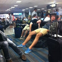 Photo taken at Concourse C by Janice on 7/30/2012