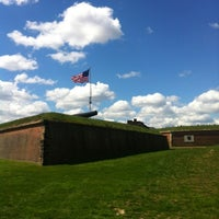 Photo taken at Fort McHenry National Monument and Historic Shrine by John R. on 4/12/2012
