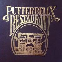 Photo taken at Pufferbelly Restaurant & Bar by Jason C. on 6/14/2012