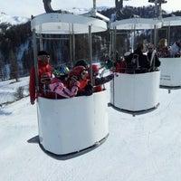 Photo taken at Risoul 1850 by ashook j. on 3/12/2012