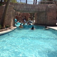 Photo taken at Grand Pool Complex Lazy River by Jim C. on 7/21/2012